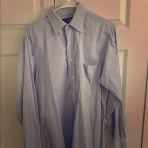 Joseph & Lyman light blue button down shirt